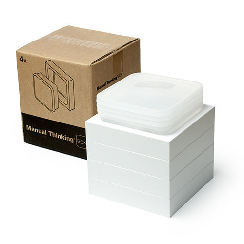 manual thinking box wall white 4 b